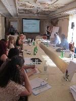 """Konferencija, plenarna sesija i okrugli stolovi povodom promocije rezultata projekta """"Iskorišćavanje efekata migracija u svrhu razvoja"""" Okrugli sto I - Ljudski kapital"""