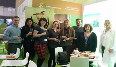 The participation of Regional agency at the International Fair of Regional Tourism Regiontour in Brno